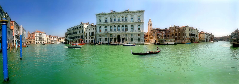 Venise. Canal grand. photos libres de droits