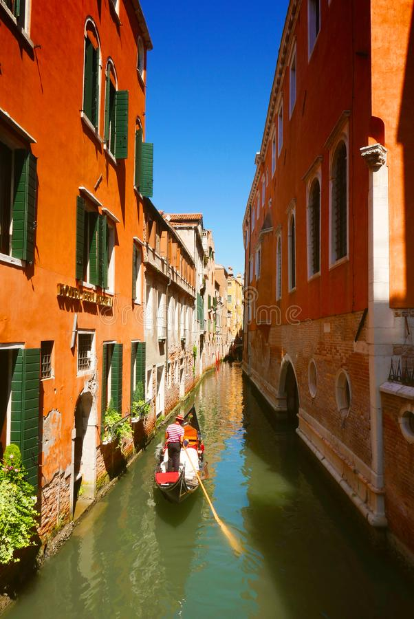 Venise canal, Italy royalty free stock photography