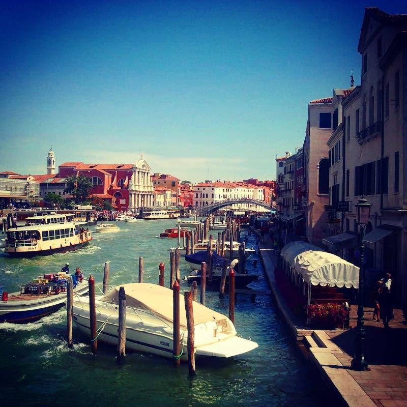 Venise dans l'été image libre de droits
