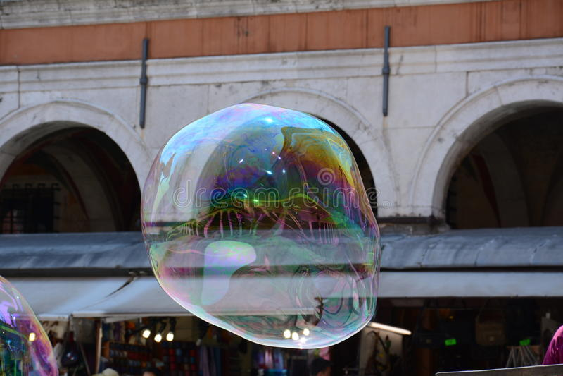 Venise dans une bulle de savon images libres de droits
