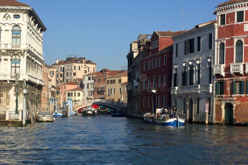 Venise et le festival de cinéma, regardent le secteur de Cannaregio images libres de droits