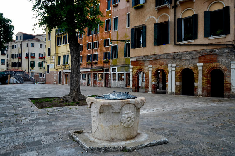 Venise, ghetto Novo photographie stock
