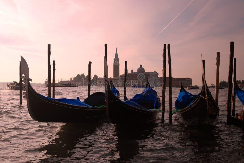 Venise - Gondole Photographie stock libre de droits