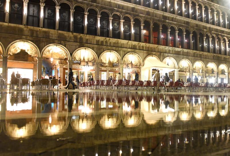 Venise, Italie - 7 juin 2017 : Café sur la place de San Marco avec la référence photographie stock