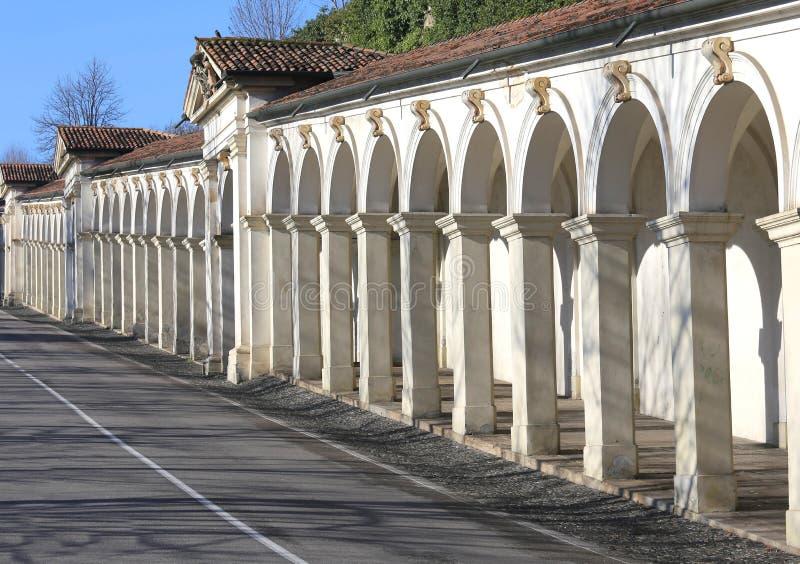 Venise Italie la haute tour de Bell de St Mark et de palac antique photo libre de droits