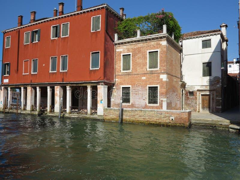 20 06 2017, Venise, Italie : Vue des bâtiments historiques et des canaux photo libre de droits