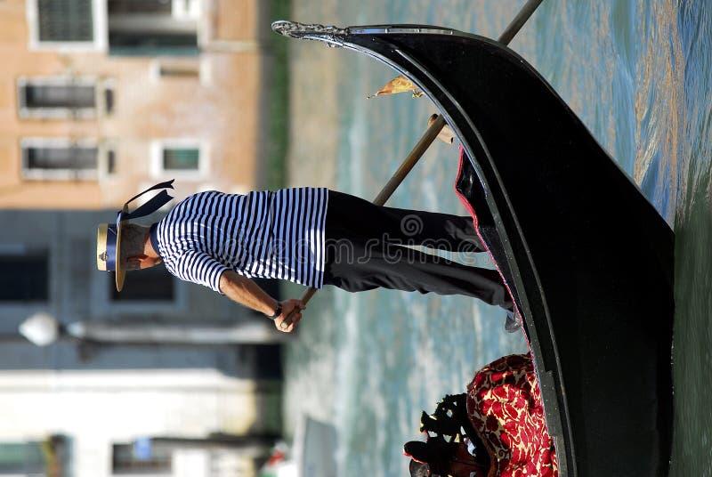 Venise - série de gondole photographie stock libre de droits