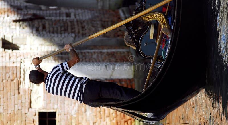 Venise - série de gondole images stock
