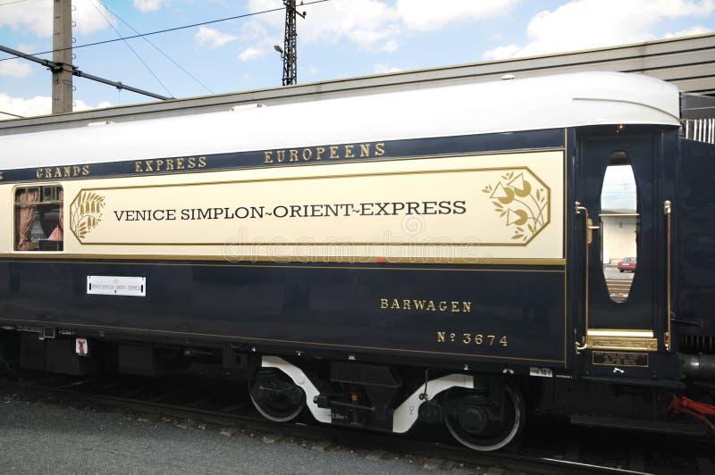 Venise Simplon-Installer-Expriment à Innsbruck image stock