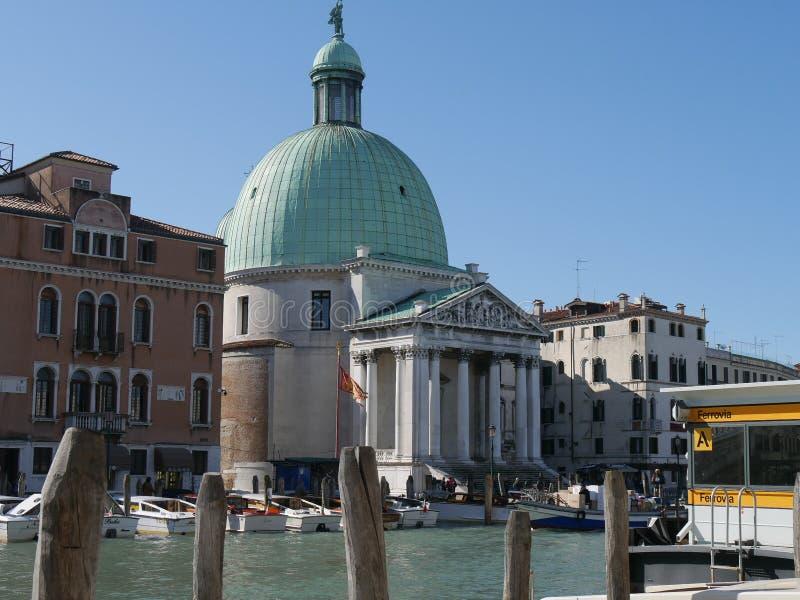 Venise - St Simeone et Judah d'église image libre de droits