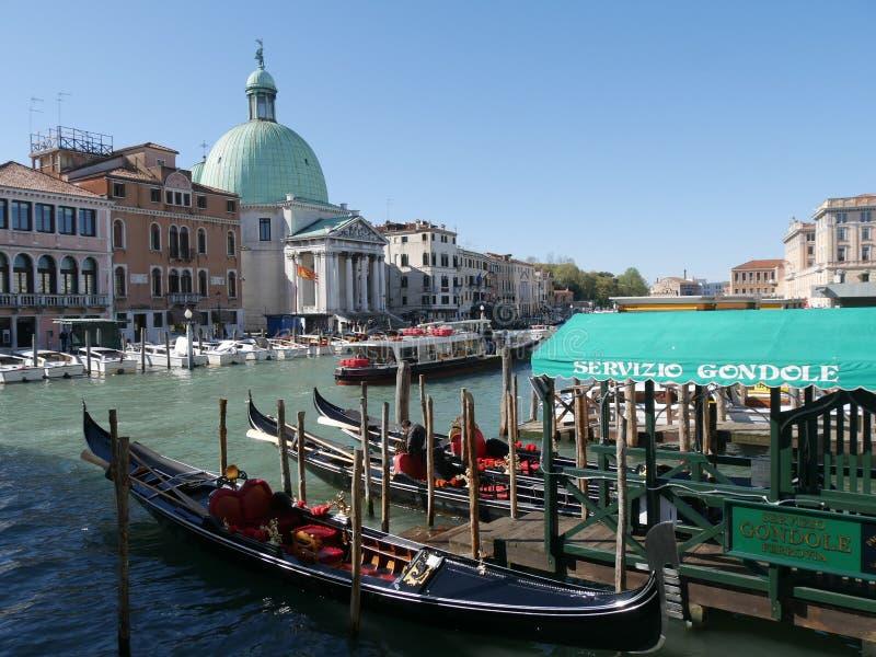 Venise - St Simeone et Judah d'église images stock