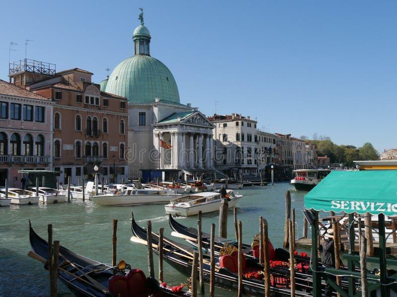 Venise - St Simeone et Judah d'église photos libres de droits