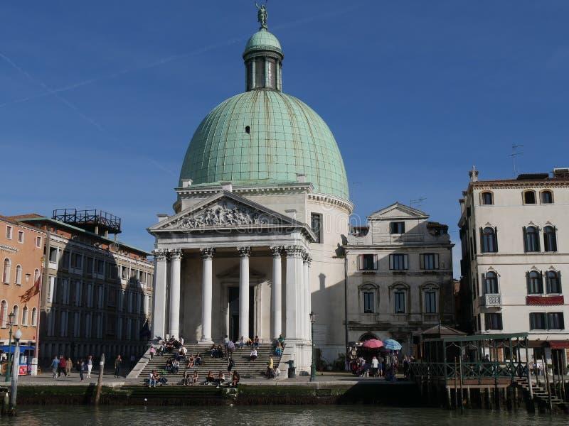 Venise - St Simeone et Judah d'église photographie stock libre de droits