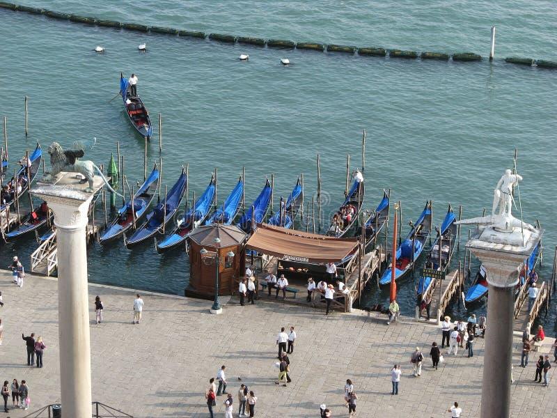 Venise, trappe de Piazzetta San Marco photos stock