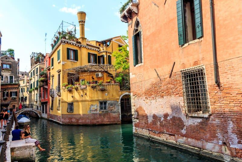 Venise - Venezia en Italie photographie stock libre de droits