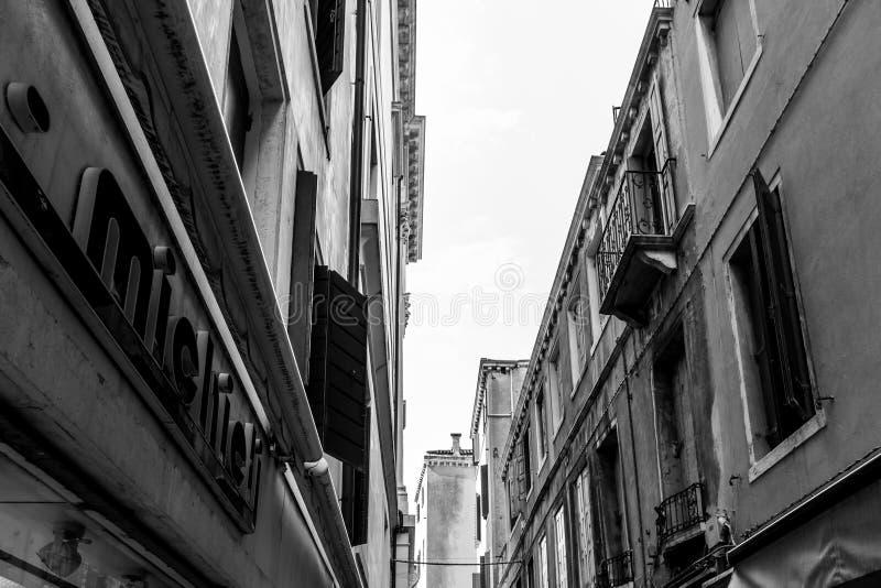 Venise - Venezia en Italie images libres de droits