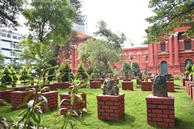 Venkatappa Art Gallery, Bangalore, Karnataka. India stock photography