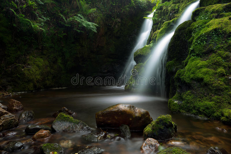 Download Vennford falls. stock photo. Image of stream, river, waterfall - 31823896