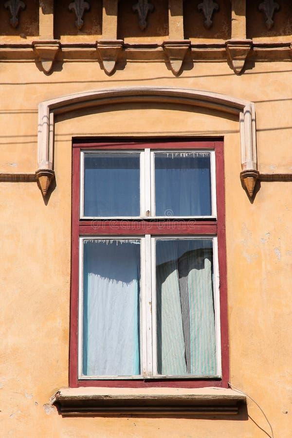 Vensterarchitectuur stock foto