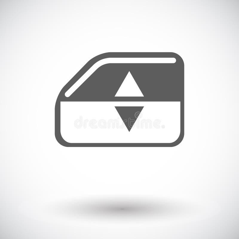 Vensterlift vector illustratie