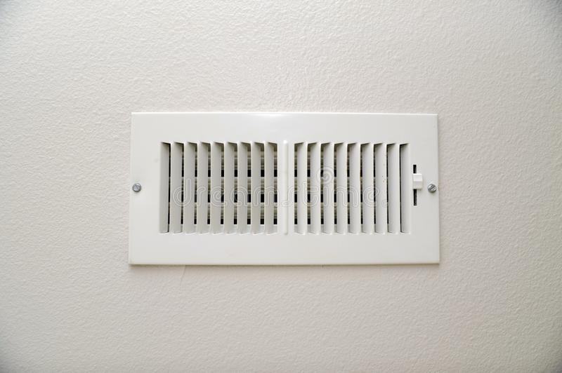The Vent. In the Home Wall. Air Condition Vent royalty free stock images