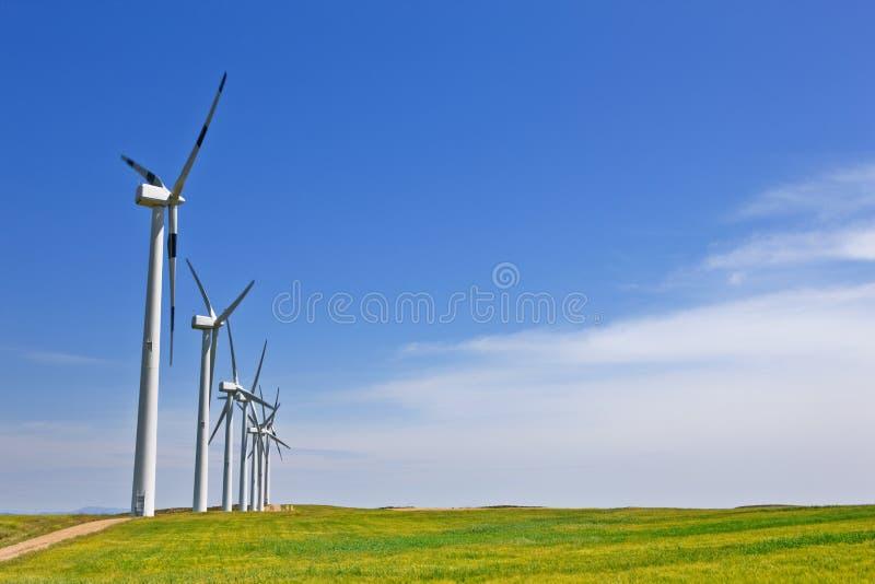 vent d'énergie images stock