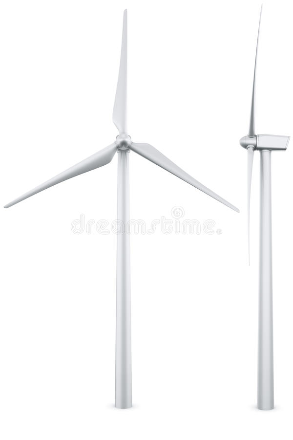 vent d'isolement de turbine illustration libre de droits