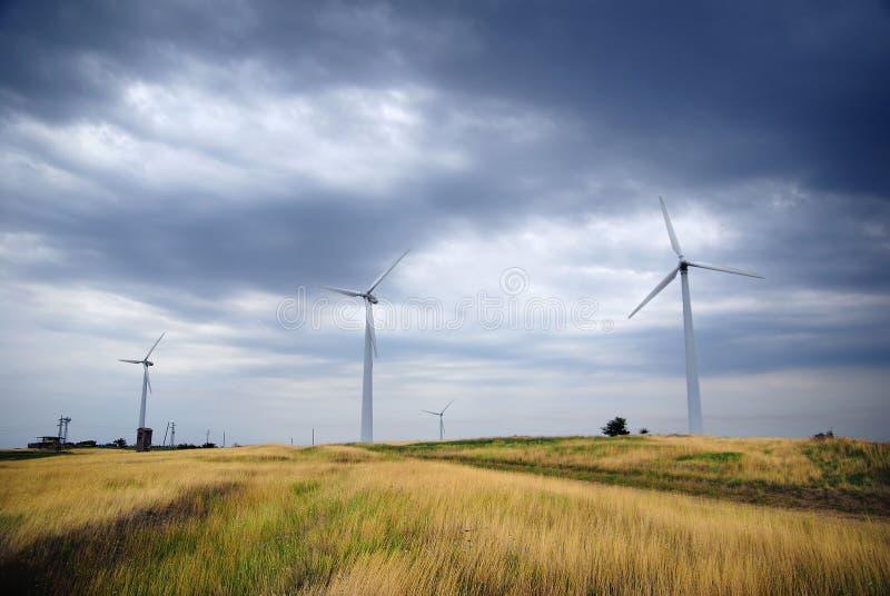 vent de turbines photos libres de droits