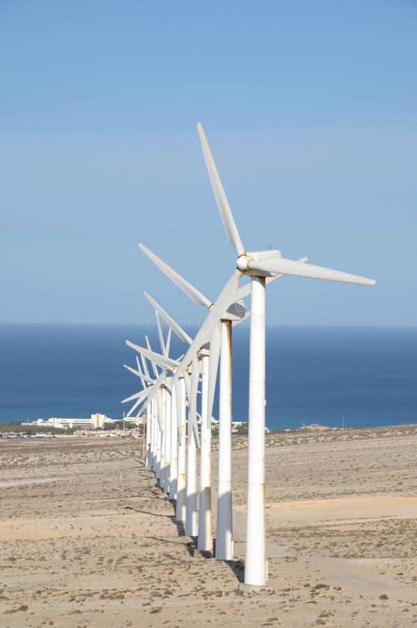 vent de turbines images libres de droits