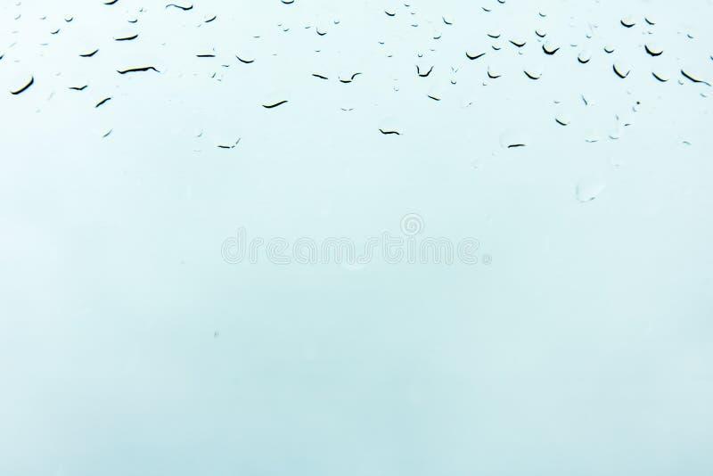 Vent transparent de fond de graphiques d'index de marché boursier de baisses de nature de l'eau de conception de pluie de rosée d photos libres de droits