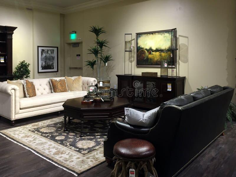 Venta agradable de los muebles de la sala de estar fotos de archivo
