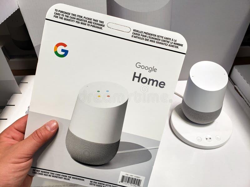 Venta de casas de Google foto de archivo