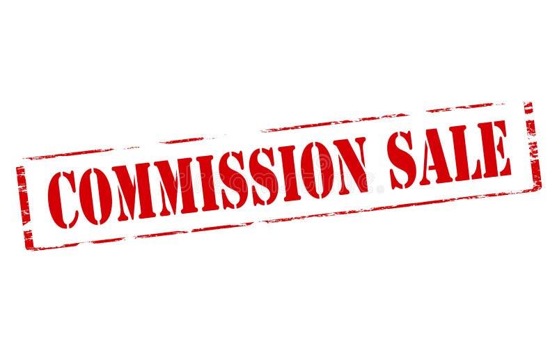Venta de Comisión ilustración del vector