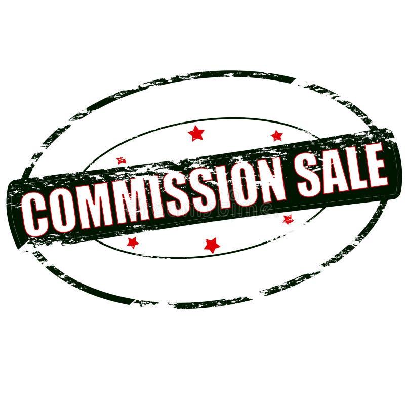 Venta de Comisión stock de ilustración