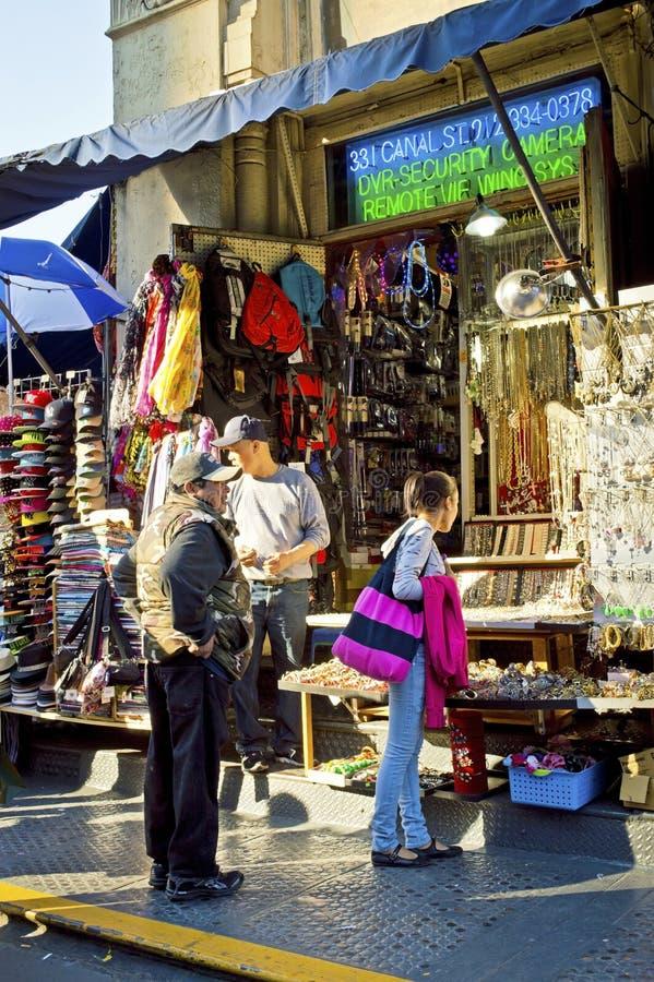Venta de la acera de Chinatown foto de archivo