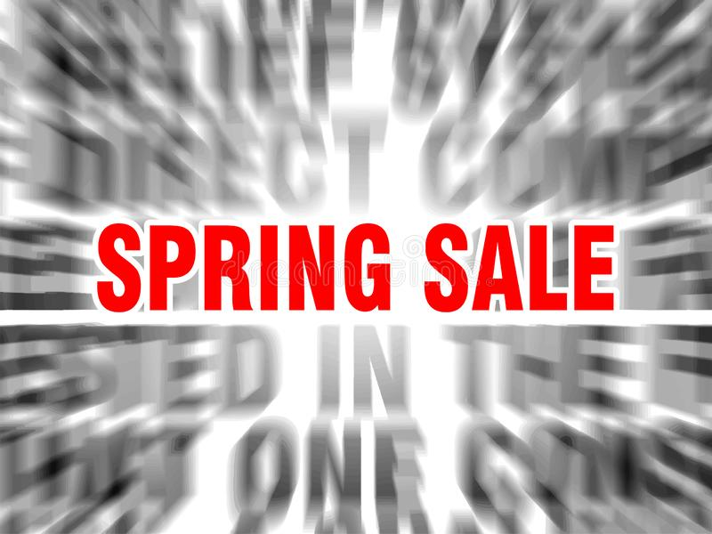 Venta de la primavera libre illustration