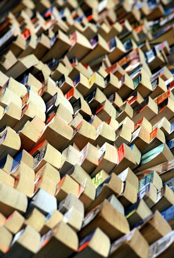 Venta de libro foto de archivo