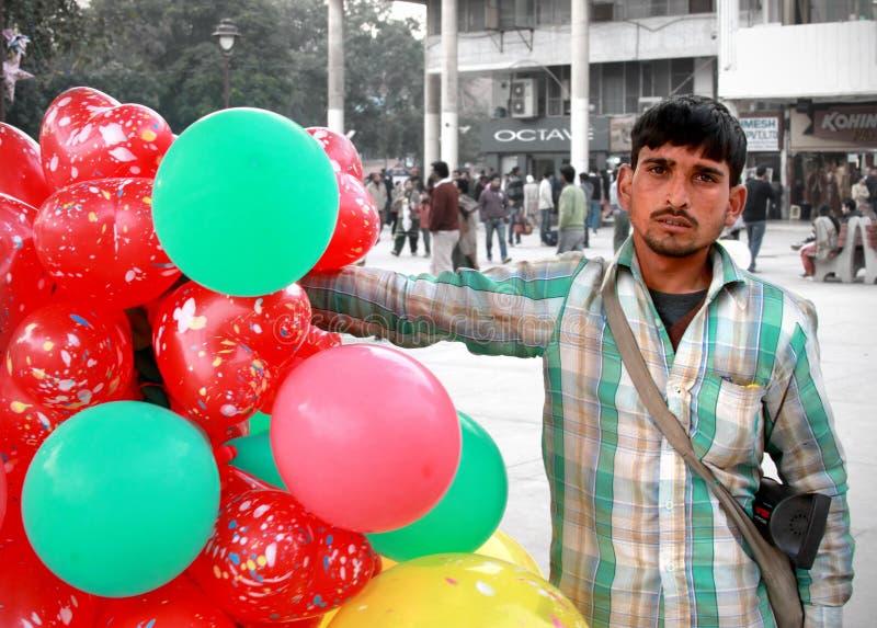 Venta de los globos imagenes de archivo