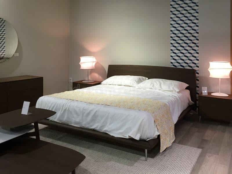 Venta de lujo de los muebles del dormitorio imagen de archivo