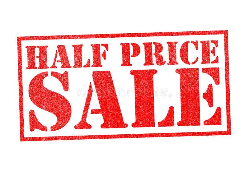 Venta de medio precio stock de ilustración