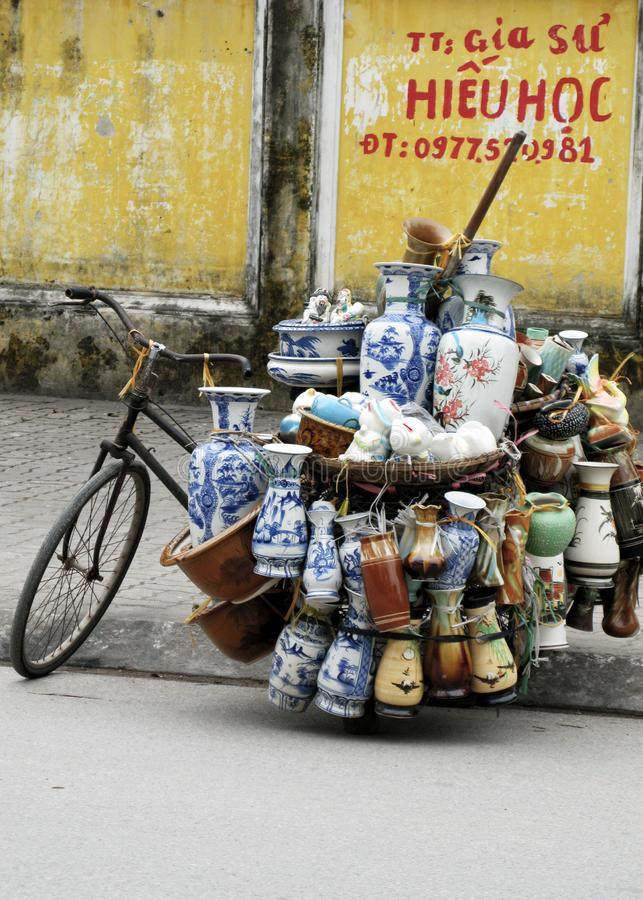 Venta del coche en la calle fotografía de archivo libre de regalías