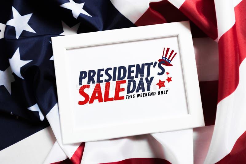 Venta del día de los presidentes - imagen imagenes de archivo
