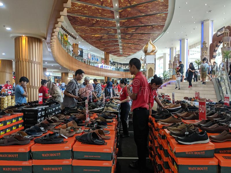 Venta del Ramad?n en Tangerang fotografía de archivo