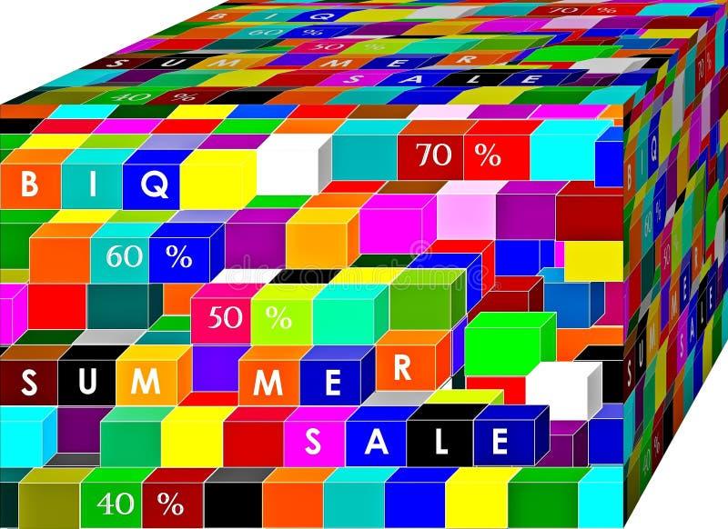 Venta grande Término de márketing y truco Fondo ilustraci?n 3D libre illustration
