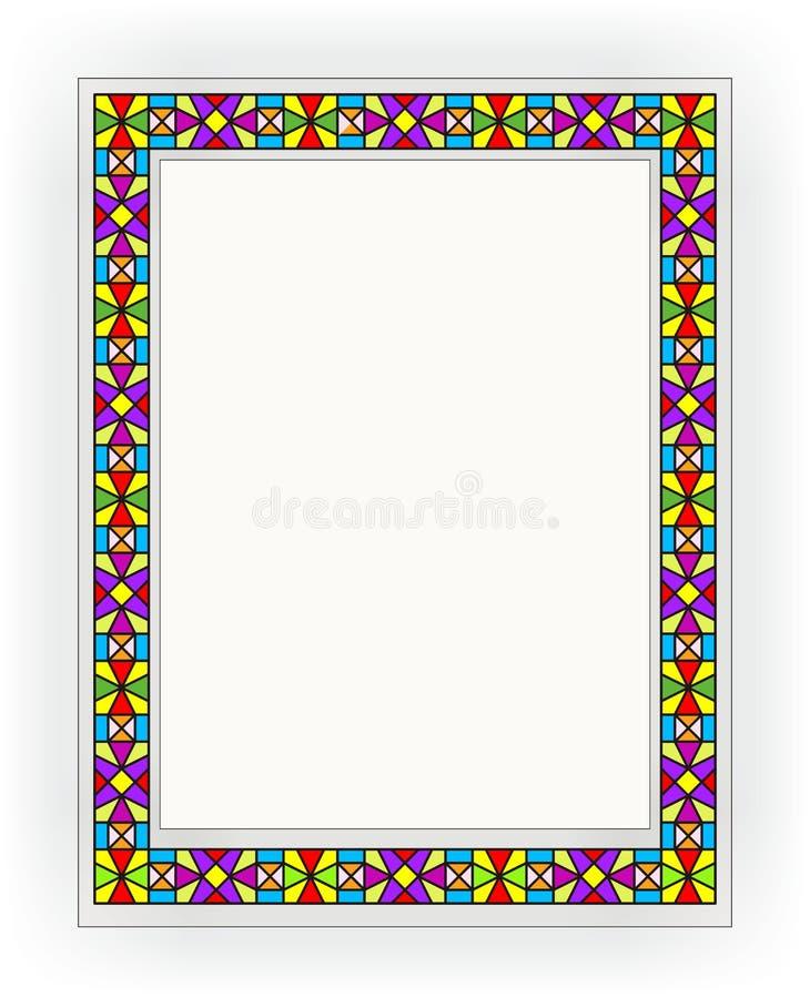 Ventana de cristal de colores 006 foto de archivo libre de regalías