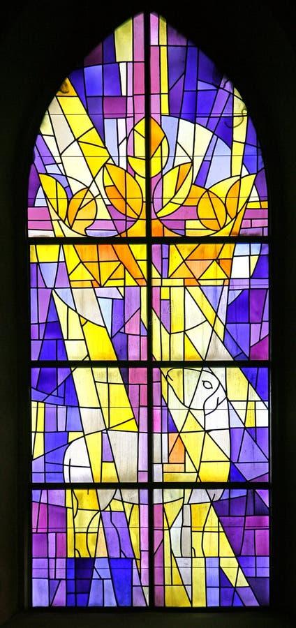 Ventana de cristal de colores 5 imagen de archivo libre de regalías