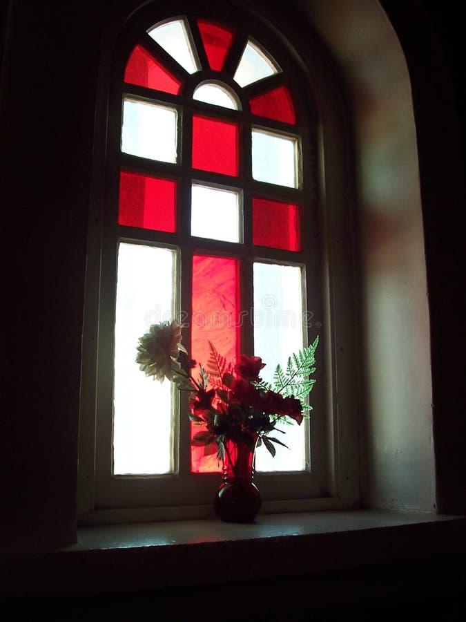 Ventana de cristal manchada 6 fotografía de archivo