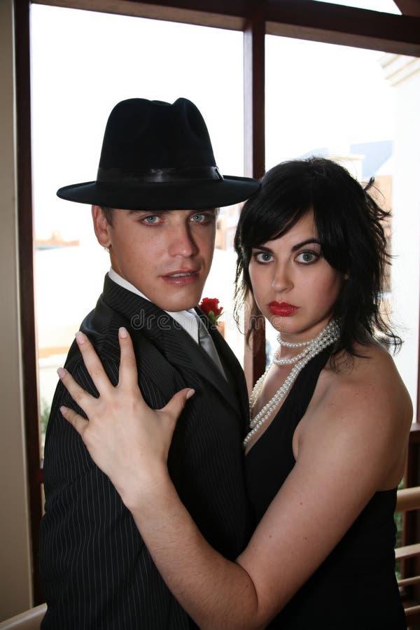 Ventana de los pares del tango imagen de archivo libre de regalías