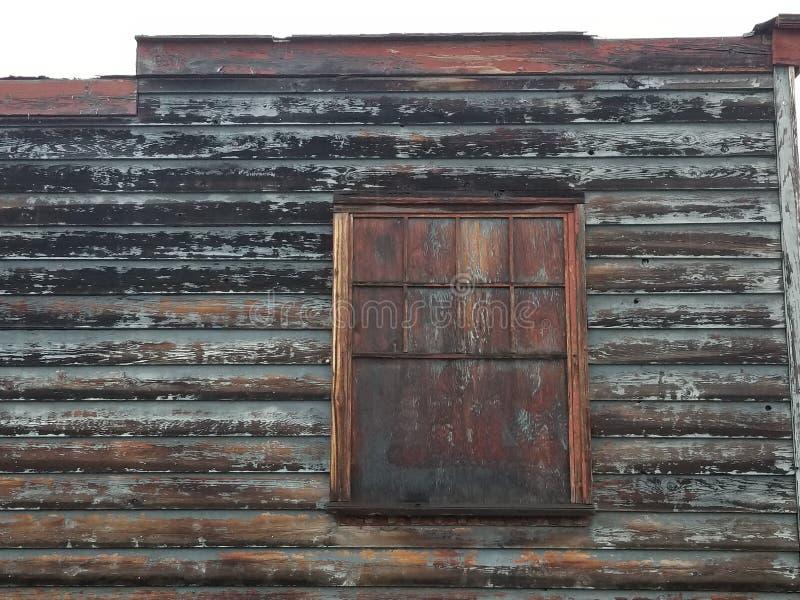 Ventana de tienda vieja imagen de archivo libre de regalías
