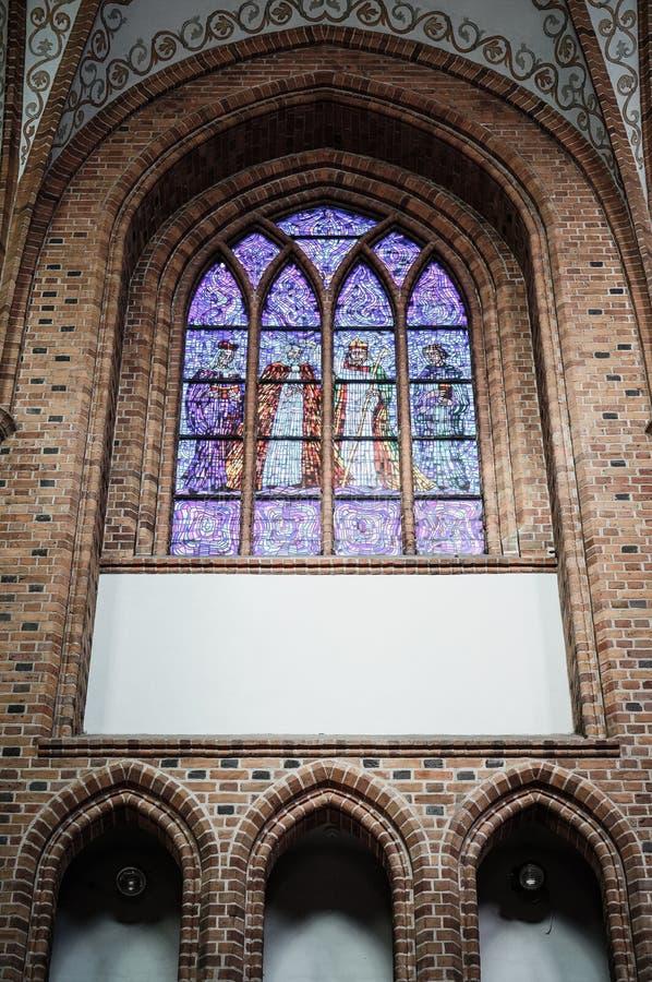 Ventana del mosaico foto de archivo